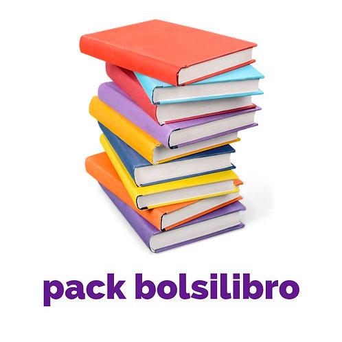 Pack bolsilibros
