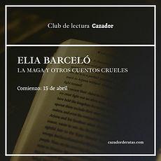 club de lectura Elia Barceló