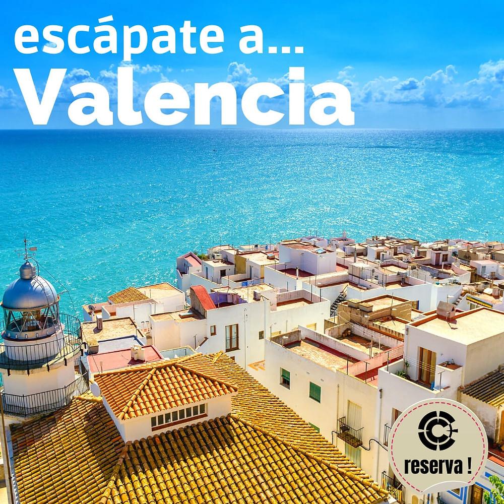viaja por Valencia este verano
