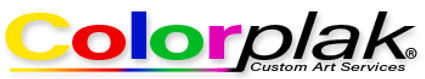 Colorplak Custom Art Services Logo