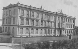 Antigua vista del edificio