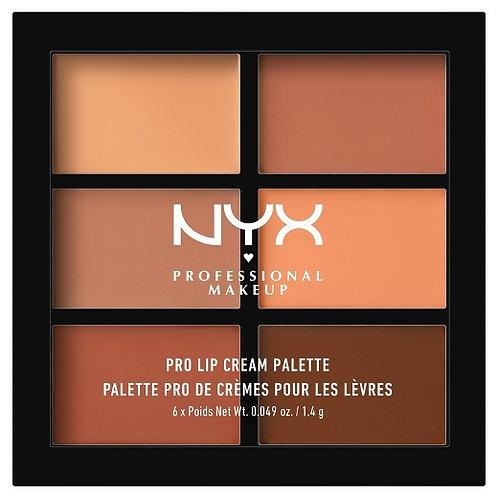 NYX Paleta De Labiales - The Nudes 02