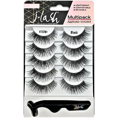 JLash Pack 5 Pares Pestañas Postizas