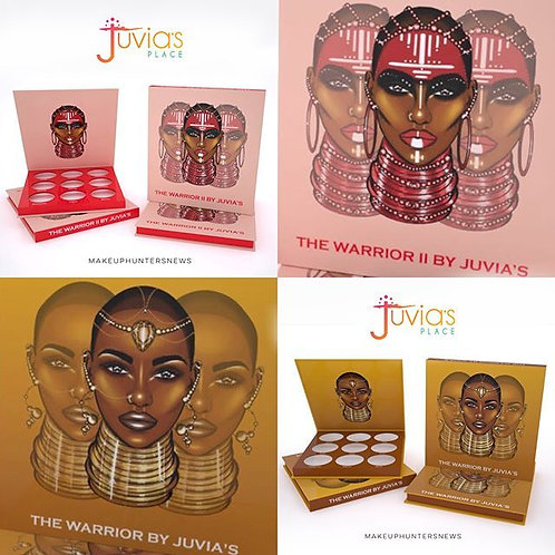 Juvias Warrior Palette