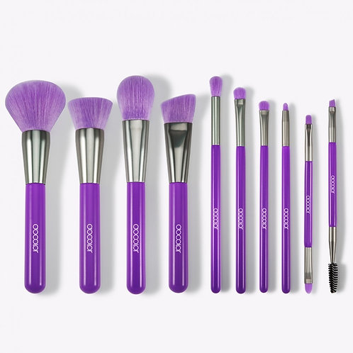 Docolor Neon Brush Set - 10 Pc