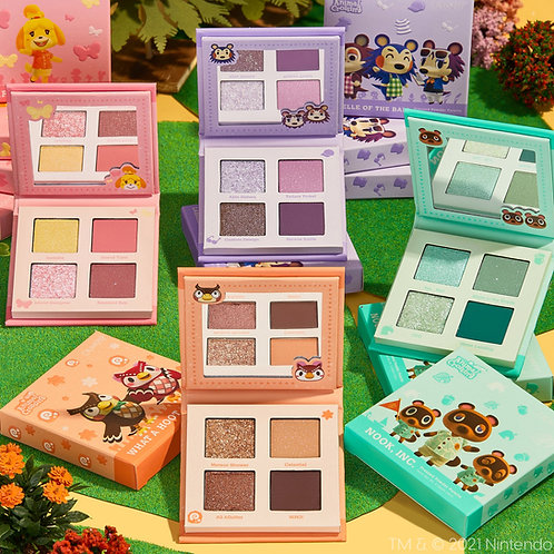 Colourpop Animal Crossing - Paletas de Sombras