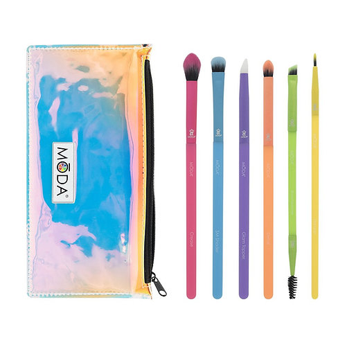 Moda Electric Eye Brush Set - 7Pc