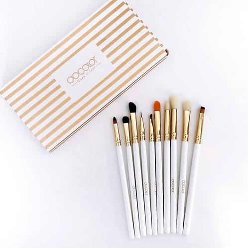 Docolor Eye Brush Set - 10 Brochas