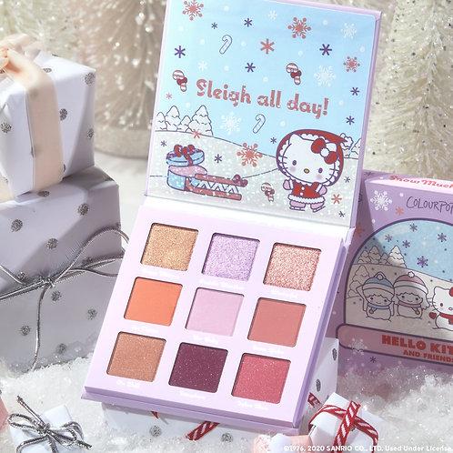 Colourpop Paleta Snow Much Fun - Hello Kitty