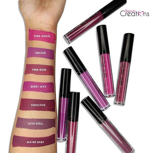 Beauty Creations Labial Liquido Mate Indeleble Tonos 01 - 30