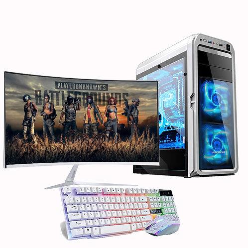 "Gaming Computer CPU I7 8GB HDD 480GB Gaming Desktop With 32"" Monitor"