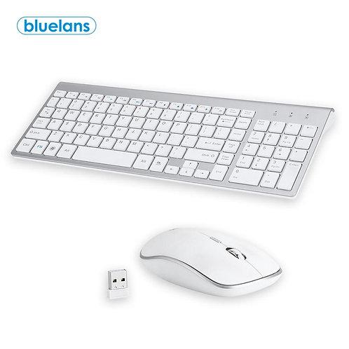 Gaming Mouse Pad Gamer Computer Ultra-Thin Stylish Wireless 2.4G