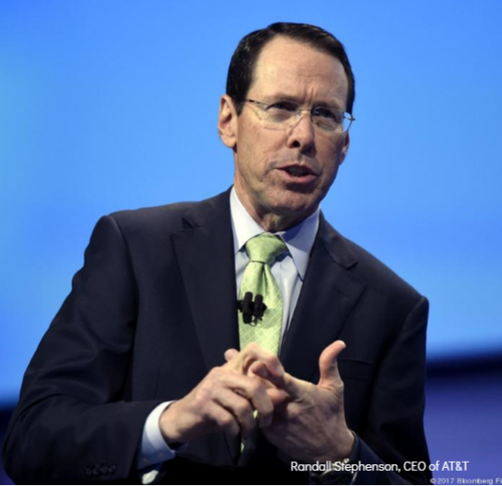 Randall Stephenson, the CEO of AT&T
