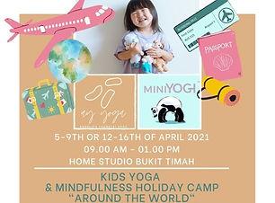 Easter Holiday Camp MiniYogi and AY Yoga