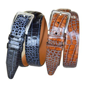 Amador Black and Cognac Belts