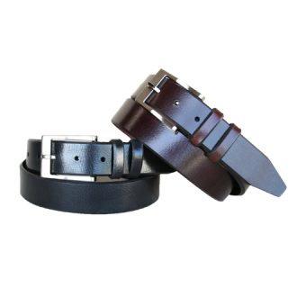 Powell Black and Mahogany Belts