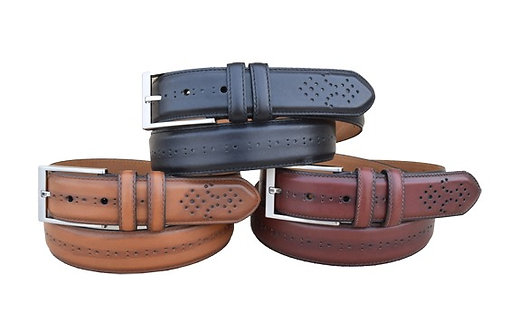 Chancellor Black, Cognac and Chili Belts