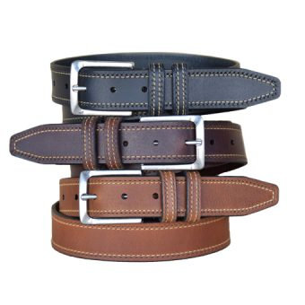Wrigley Black, Brown and Cognac Belts