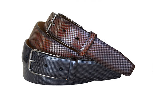 Mansfield Black and Cognac Belts