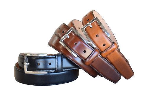 Windsor Black, Brown and Cognac Belts