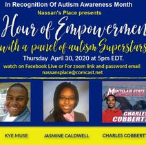 April is Autism Awareness Month - Covid-19 # 4