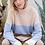 Thumbnail: Striped Mock Neck Sweater