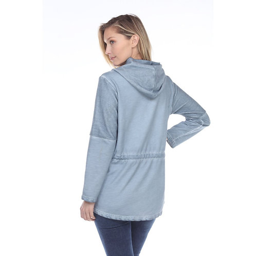 Blue Countryside Jacket Top