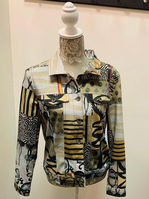 Unique Art Print Jacket