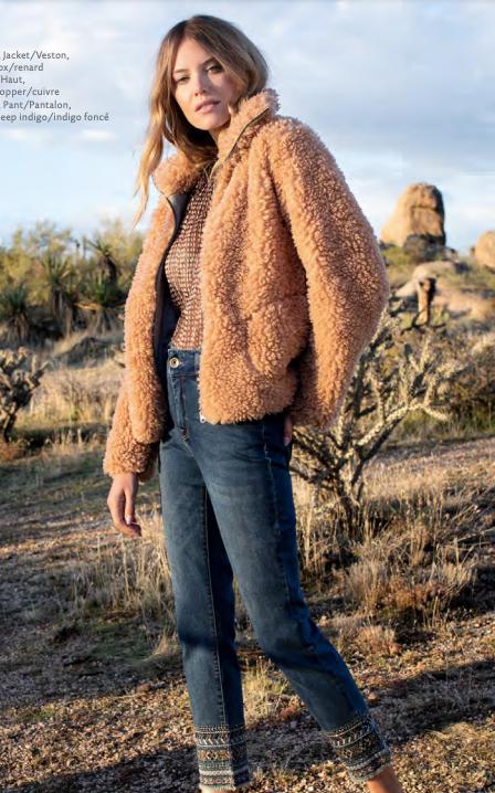 Fuzzy Beige Sweater