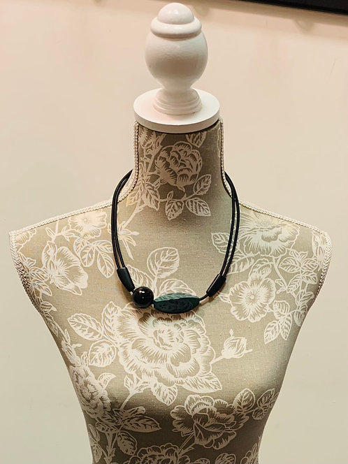 Black and Multi Necklace