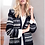 Thumbnail: Long Cardigan with side pockets