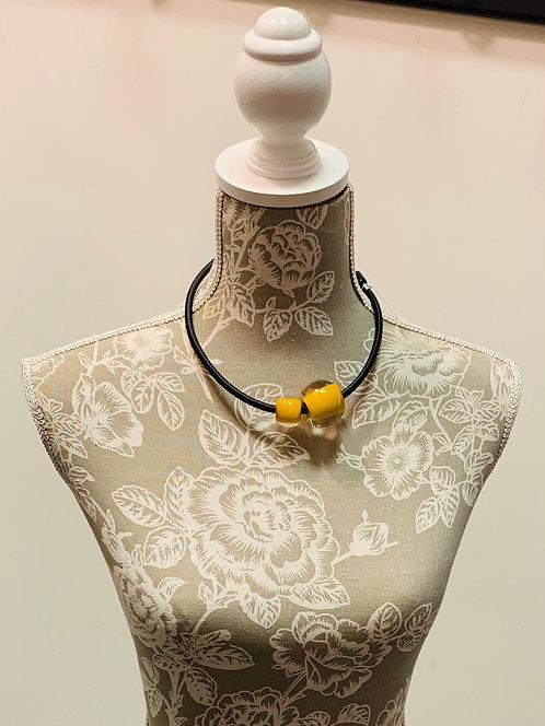 Caramel Art Deco Necklace