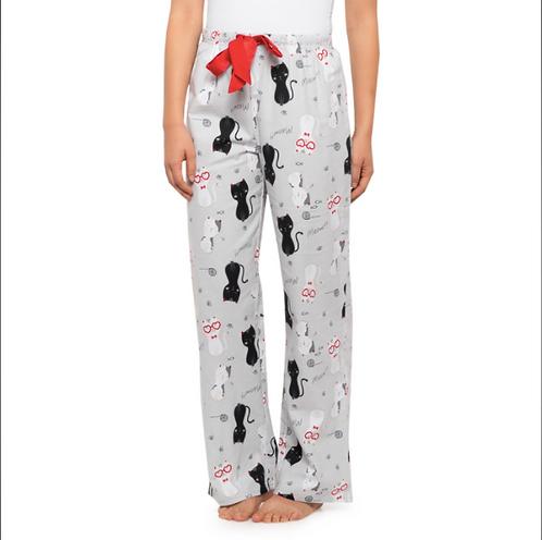 Cat Print Pyjama Pant