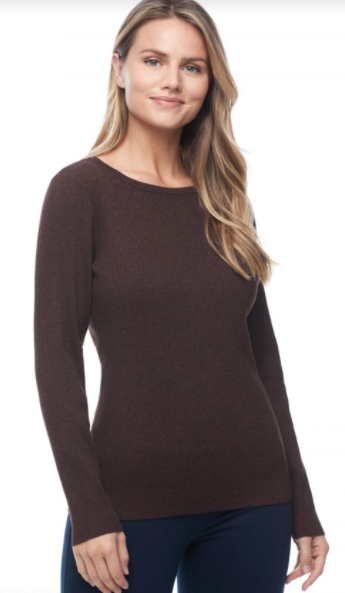 Brown Mix Sweater