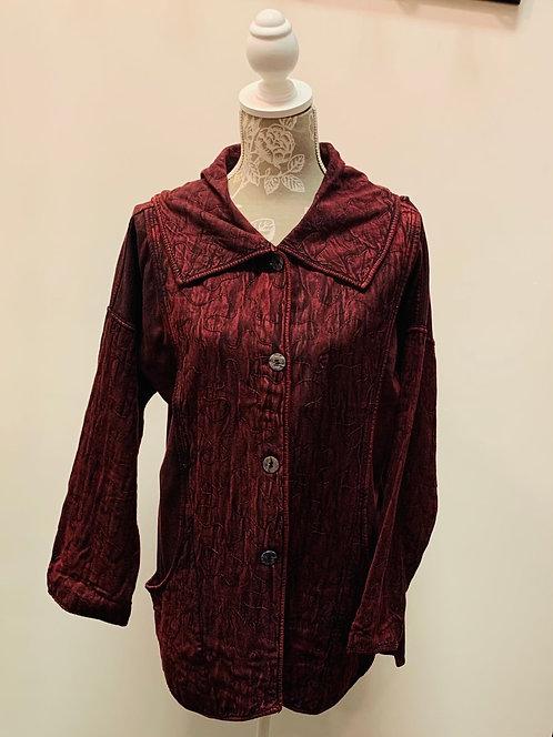 Burgundy Jacket