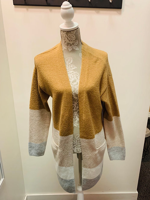 Cardigan with front pockets