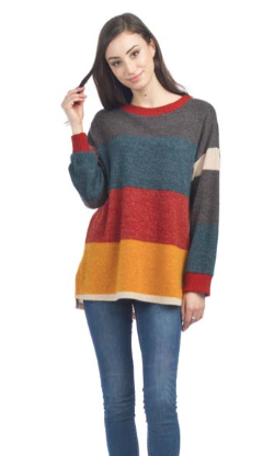 Colour Blocked Sweater