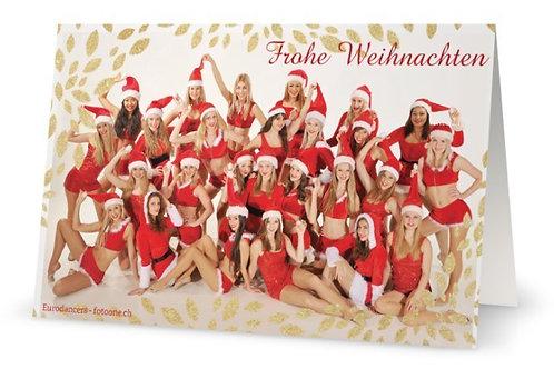 Eurodancers Weihnachtskarte 2020
