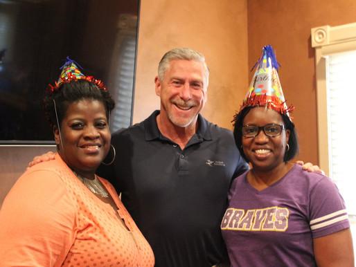 Celebration of August Birthdays at the ESC