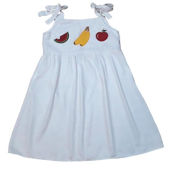 Vestido Off Frutas