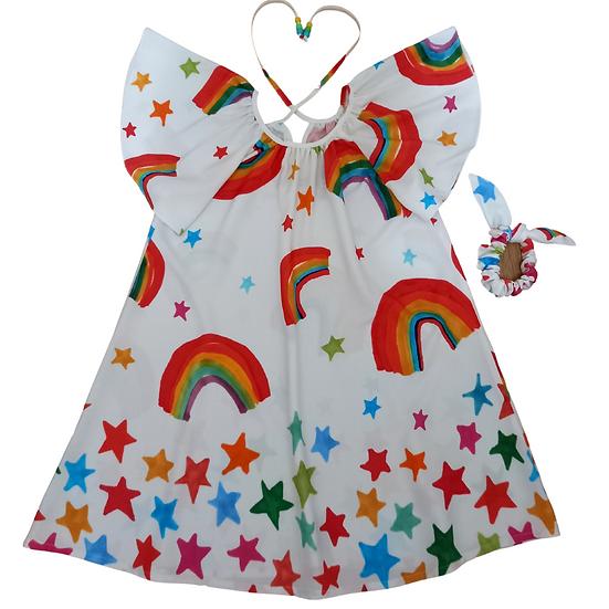 Vestido Rainbow
