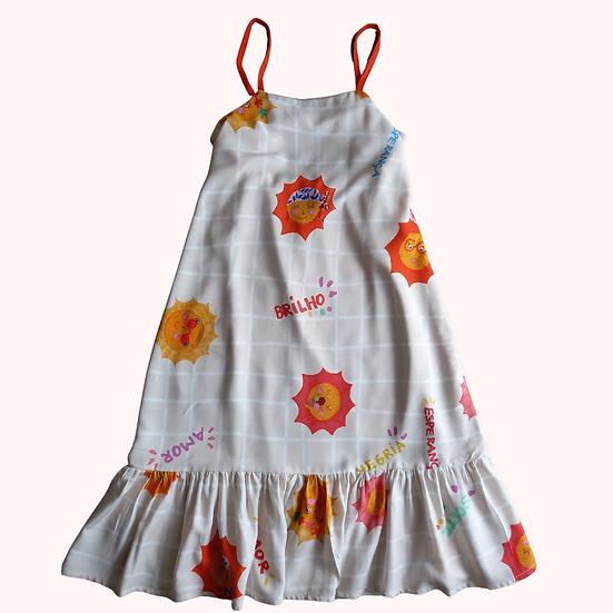 Vestido Solar Longa