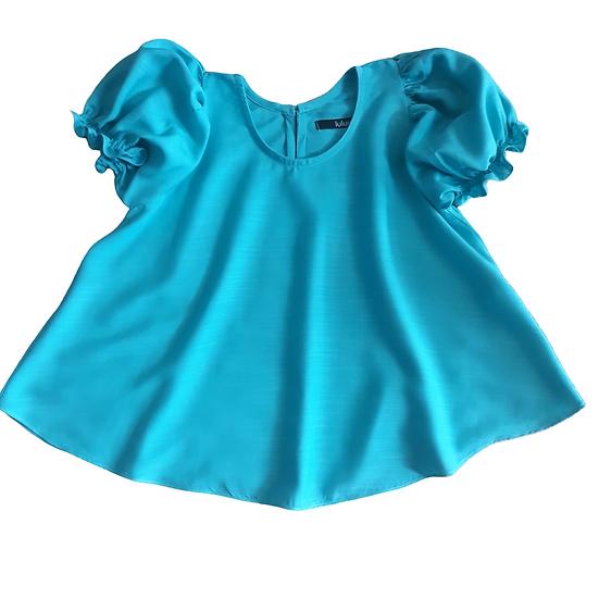Bata Mariah Azul Turquesa