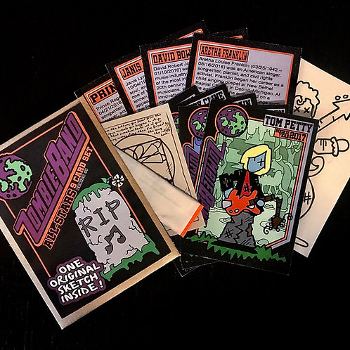 Zombie All-Star Band Collectors Cards