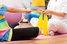 물리 치료 세션