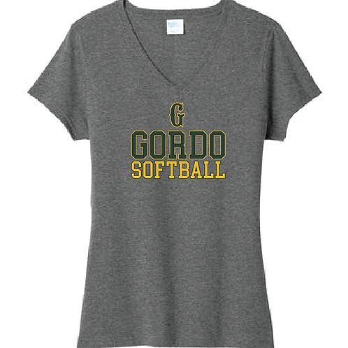 """Women's Gordo Softball """"G"""" Design (option 2)"""