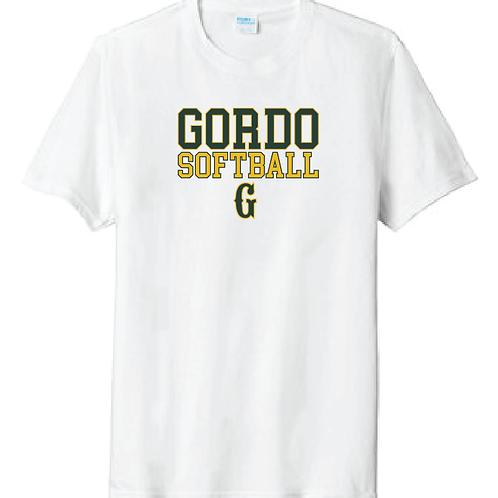 """Men's Gordo Softball """"G"""" Design"""