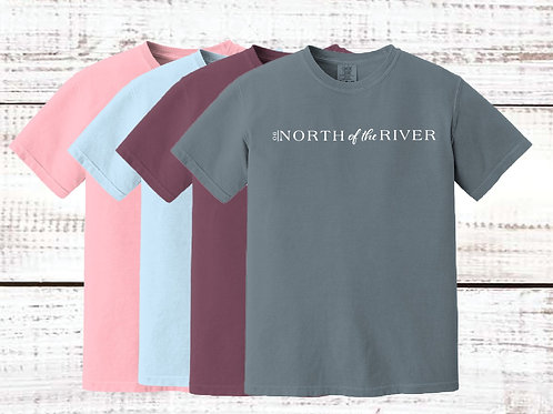 North of the River Comfort Colors Tee