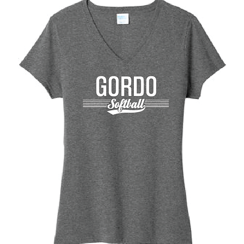 Women's Gordo Softball Design