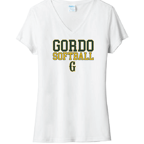 "Women's Gordo Softball ""G"" Design"
